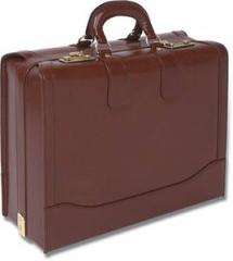Quindici 305 Leather briefcase/overnight