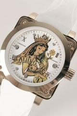 Queen of Clubs Unisex Watch