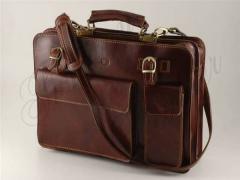 Italian leather briefcase (TL10020)