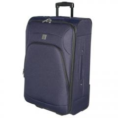 Tripp Navy vacation medium suitcase