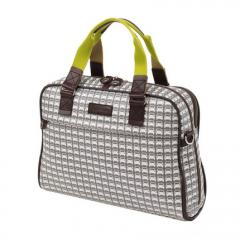Orla Kiely Grey/cream Orla Kiely laptop bag