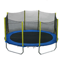 AirKing Oval 15 x 10ft trampoline with safety