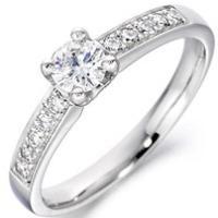 Bien Diamond Solitaire Ring