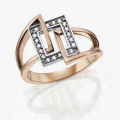 Art deco Style Diamond Ring DD1983 COR