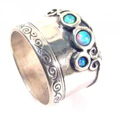 Silver Ring with Opaline TA2422