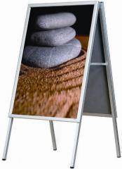 Classic A-Board - Mitred & Round Corners