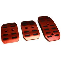 E-TECH Red Sports Car Foot Pedals