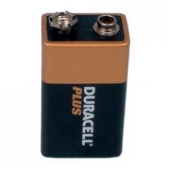 Duracell Alkaline Batteries - 9V Pack of 1