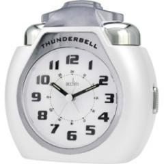 Acctim 13002 Thunderbell Alarm Clock (White)