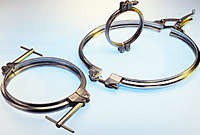 Clamps, Heavy Duty and Hygienic
