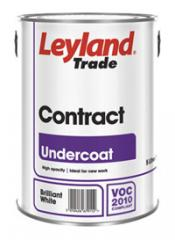 Contract Range for New Work - Contract Undercoat