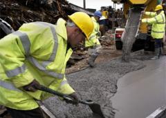 Impact and abrasion resist concrete