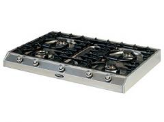 90cm Professional Gas Hotplate with 4 Burners and