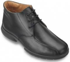 Mens Wide Fit Soft Leather Boot