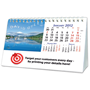 Personalised A5 Desk Calendar