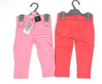 Minoti 'Rosey 01' Pink and Coral Skinny