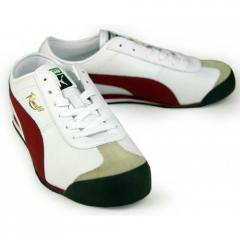 Puma Roma 68 Vintage NM trainers in White/ Red