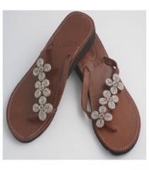 Tatu Heel - Silver Sandals