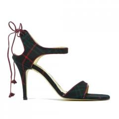 Giselle Tartan High Heel Shoes