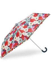 Bright Anenome Print Mini Crook Umbrella