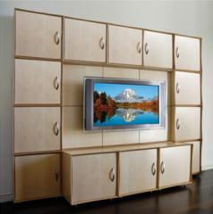 Qube Media Wall the Storage Solution