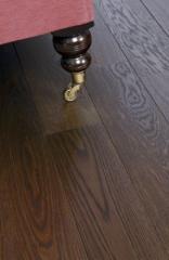 Oak Engineered Board Baked & Ebony Oiled