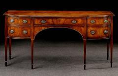 Handmade Georgian style solid mahogany sideboard