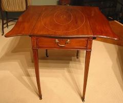 George III period mahogany Pembroke table
