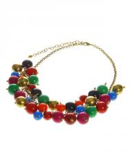 Fair Trade Bright Bead Necklace