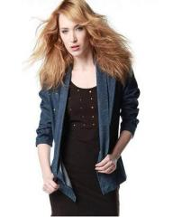 Fair Trade loose denim jacket