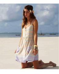 Fair Trade Uru Zip Front Dress