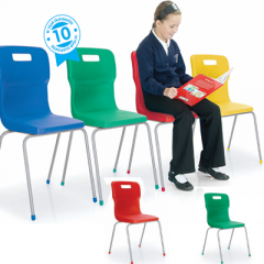Titan 4 Leg Chair Age Range 13 + Years