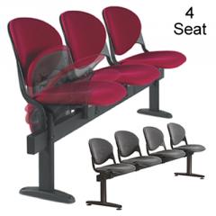 4 Seat Flip-Up Beam Seat Unit