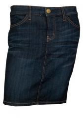 The 5 Pocket Denim Pencil Skirt