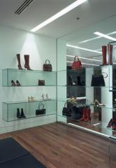 U.V Toughened Glass Shelves