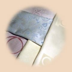 Jacquard Damask Range of Fabric