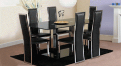 Crystal Glass Dining Furniture