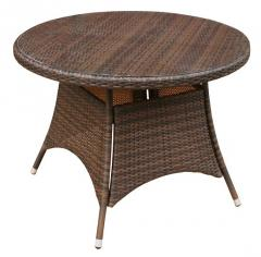 Wickerline Lincoln Round Dining Table 100cm