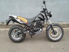 Motorcycle Hyosung RT125