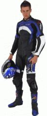 RST Mens Rift Leather Jacket Blue