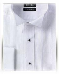 Dress Shirt with Pleated Front