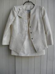 Armarni White Skirt-Suit