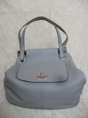 Alexander McQueen Pale Blue Slouchy Bag