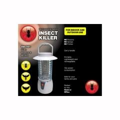 Rechargable indoor and outdoor insect killer