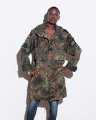 Camouflage Coat Khaki