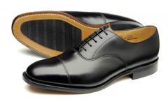 Ayr Black Calf Shoes