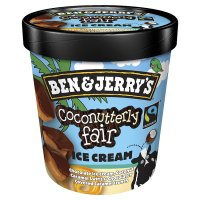 B&J ice cream coconutterly fair 500ml