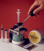 Balcan Hypodermic needle destructor