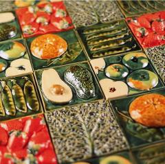Contemporary Colour Tile