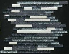 Onix Grey Mosaic Strip